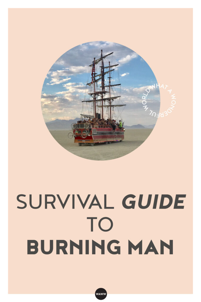 SURVIVAL GUIDE TO BURNING MAN