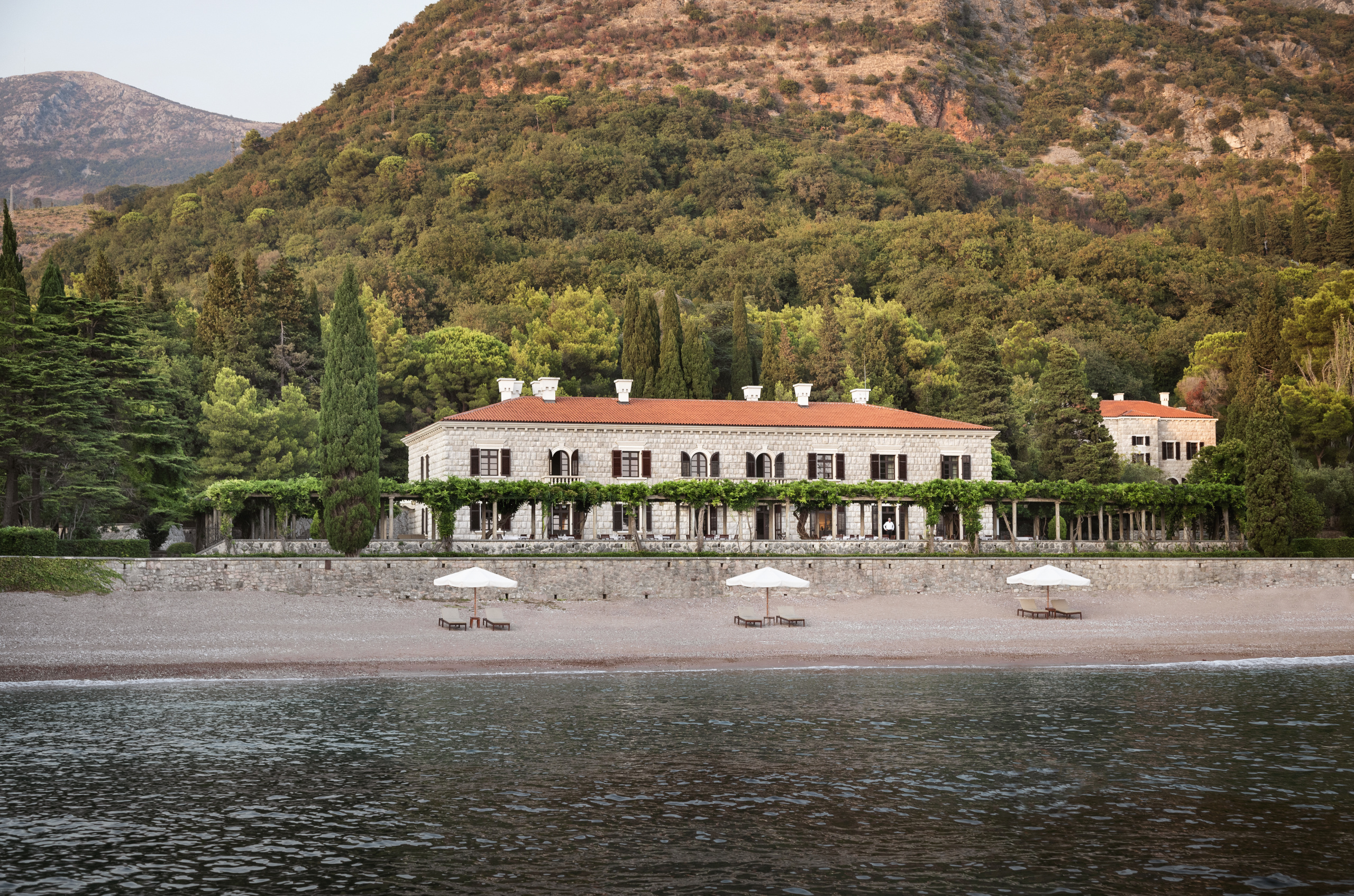 Aman located at St Stefan island