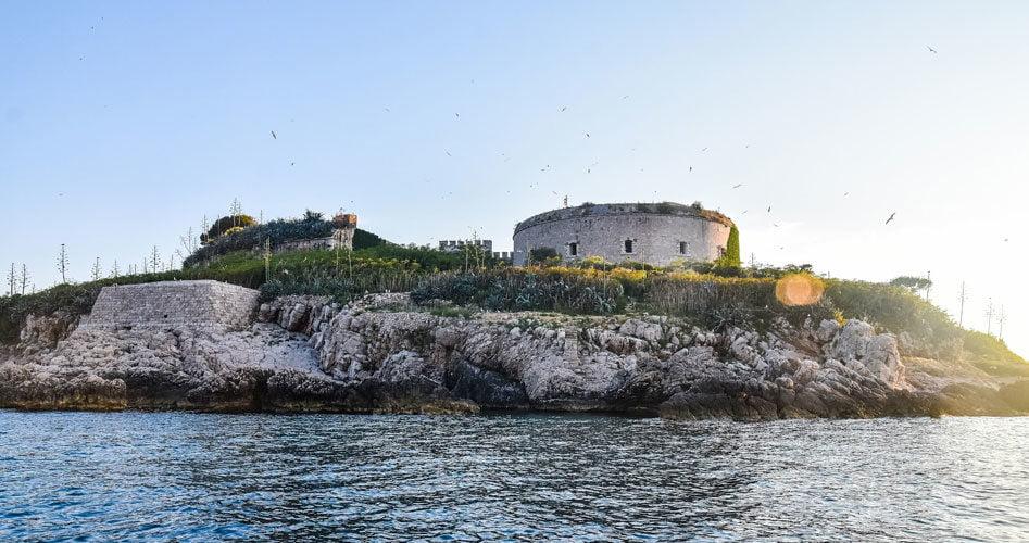 Mamula fortress