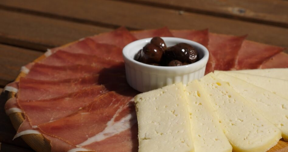 National product Njegusi cheese and ham