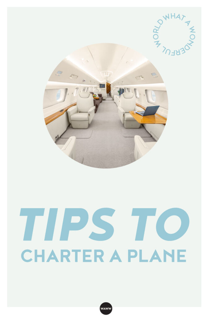 TIPS TO CHARTER A PLANE