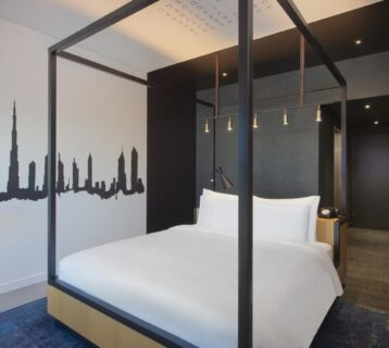 Elegant and trendy rooms inspired by Dubai
