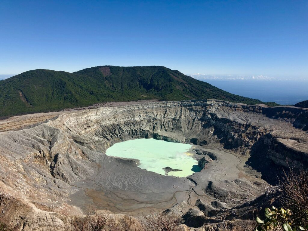 Poás Volcano, Alajuela Province, Alajuela, Costa Rica.
