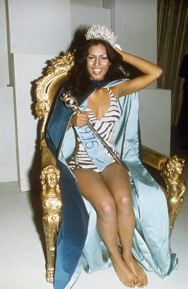 Wilnelia Forsyth, Miss Universe 1975