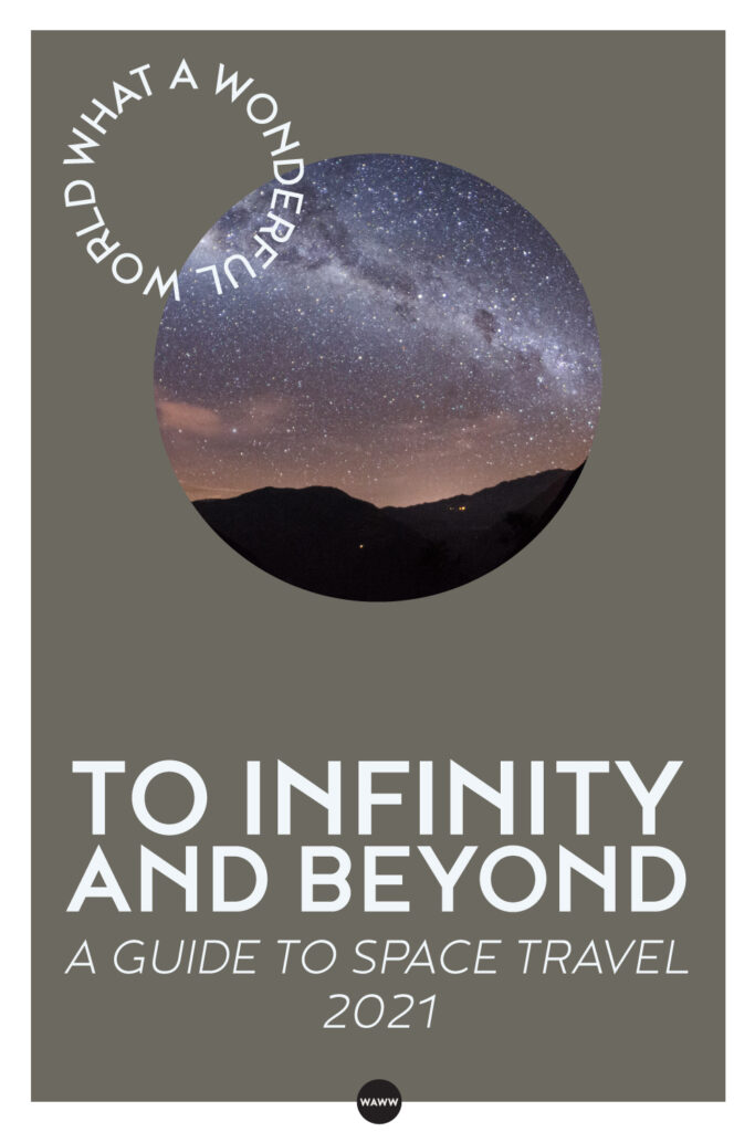 TO INFINITY AND BEYOND-A GUIDE TO SPACE TRAVEL
