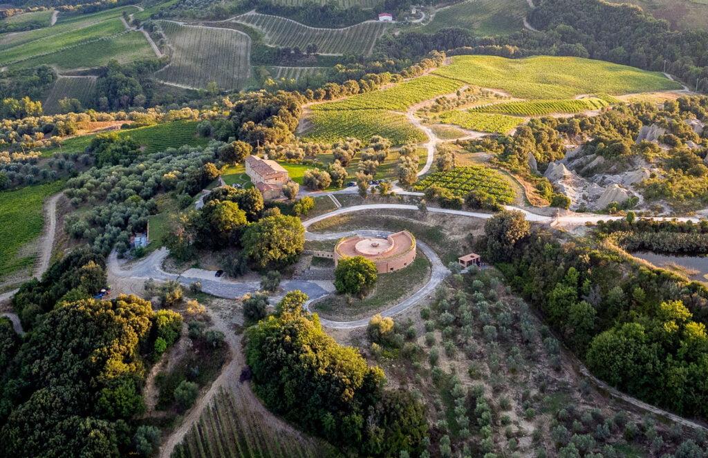 Captivating vineyards in Tuscany