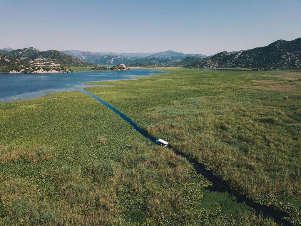 Skadar Lake - captured by Antoine Similon for Unsplash