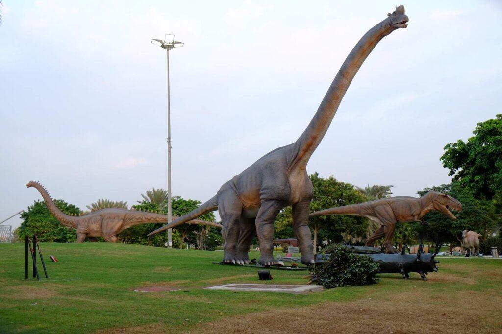 Dubai Garden Glow Dinosaur Park
