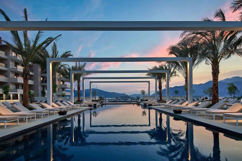 Porto Montenegro's pool