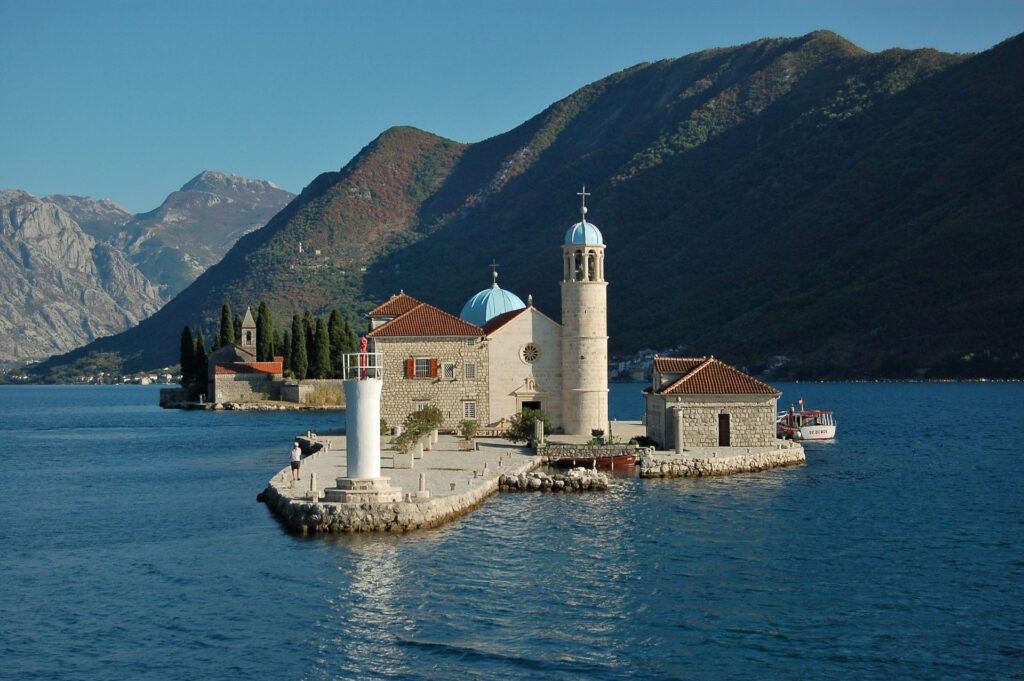 Our Lady of the Rocks and Perast